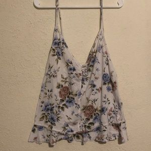 AEO Soft & Sexy Floral Tank